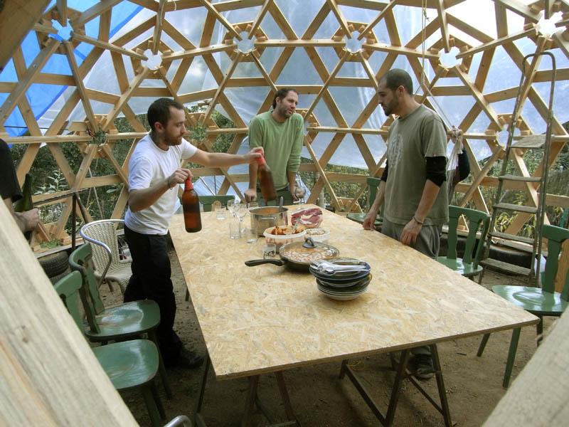 geodesica madera
