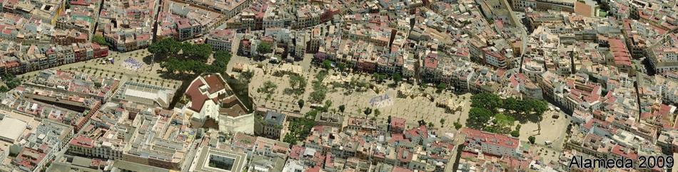 Alameda de Hércules Sevilla 2009