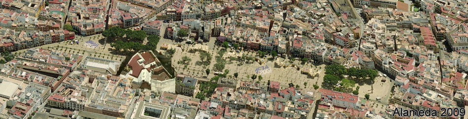 Alameda de Hércules Siviglia 2009