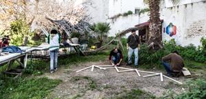 autoconstruccion equipamiento huerta urbana