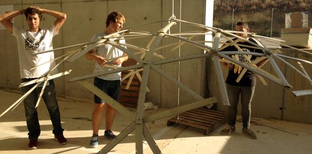 workshop autocostruzione cupola geodetica