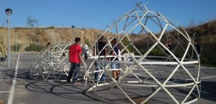 WEL1 Recicled Geodesic Dome