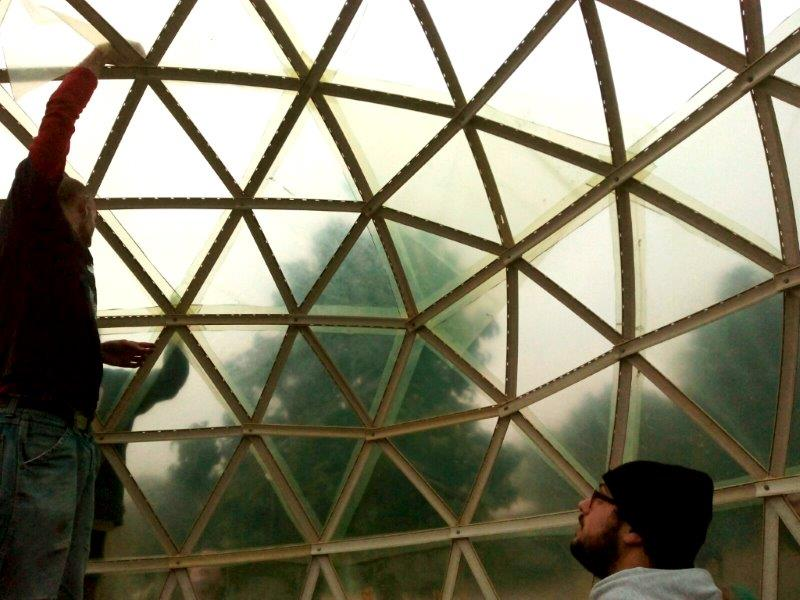 Conosciuto Serra geodetica di persiane recuperate – Ctrl+Z Arquitectura UJ01
