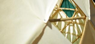 Zome geodetico CtrlZ architettura laboratorio