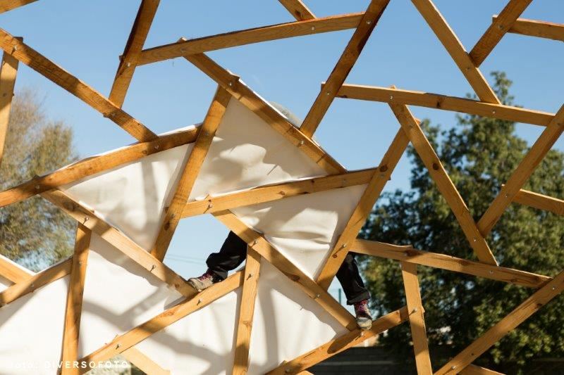 how to build rotegrity nexorades geodesic dome, leonardo domes