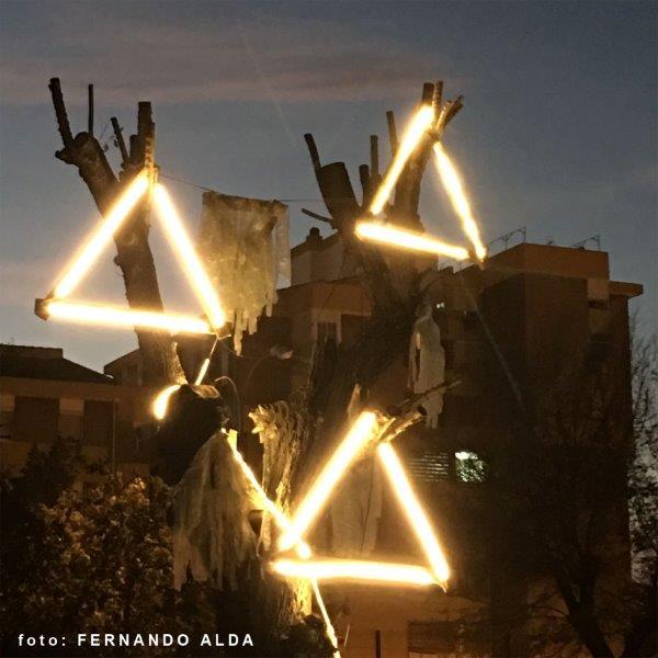 luces de barrio Poligono sur