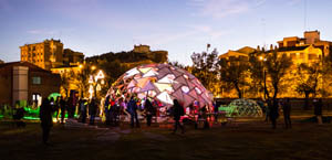 mapping seville, how to build rotegrity nexorades geodesic dome