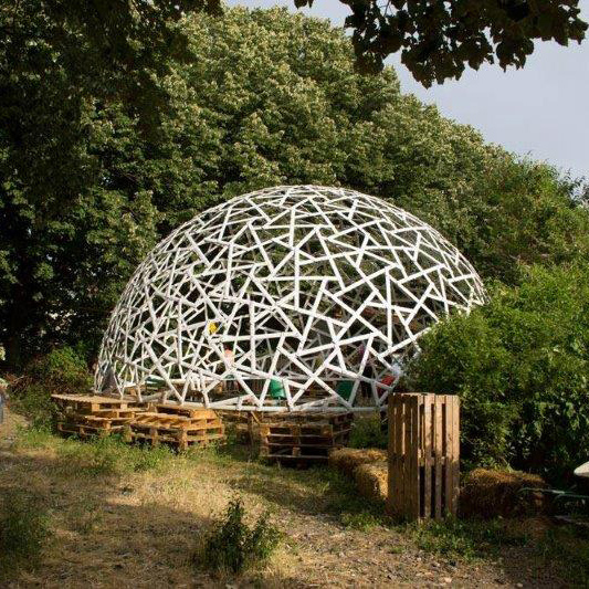 geodesic dome bioarchitecture
