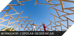 how build geodesic structure