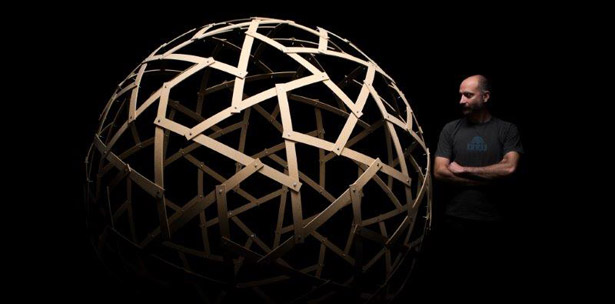 Mathematical geometric sculptures structures sculpture art